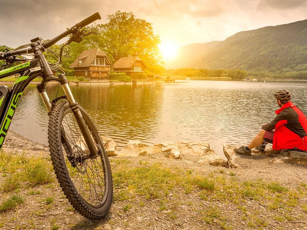bike-lake