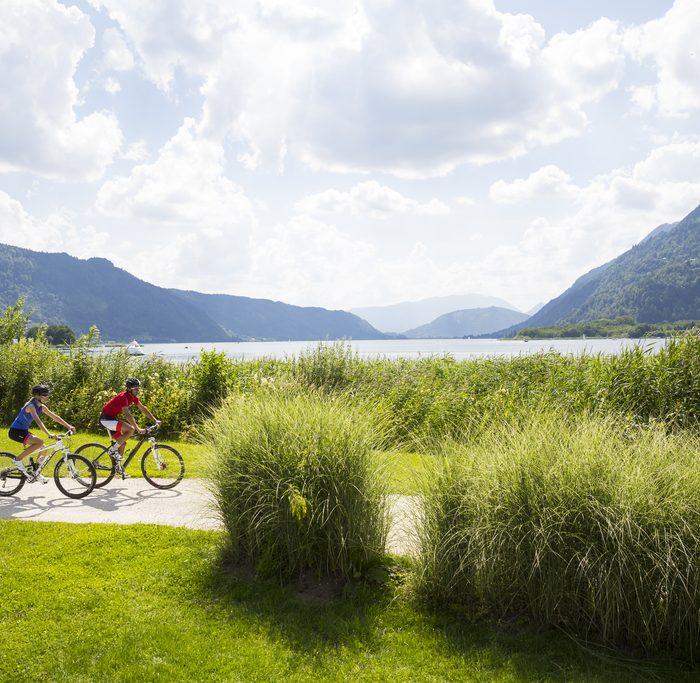 Radfahren am Ossiacher See