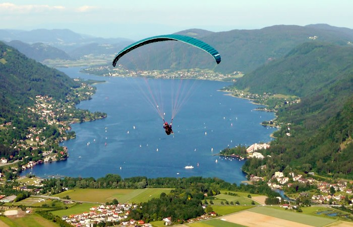 ferne-paragliding-ossiachersee